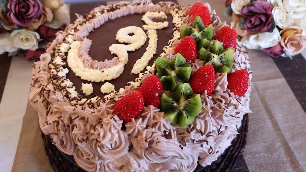 كيكة عيد الأم كل عام وأمهات العالم بألف خير مع طريقة تزيين القالب وينعاد عالجميع بألف خير Food Desserts Cake