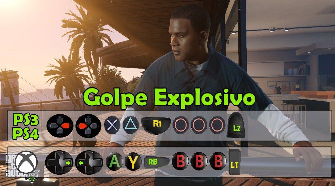 Truco De Golpe Explosivo En Gta 5 Trucos Para Gta V Trucos De Gta 5 Trucos Gta V