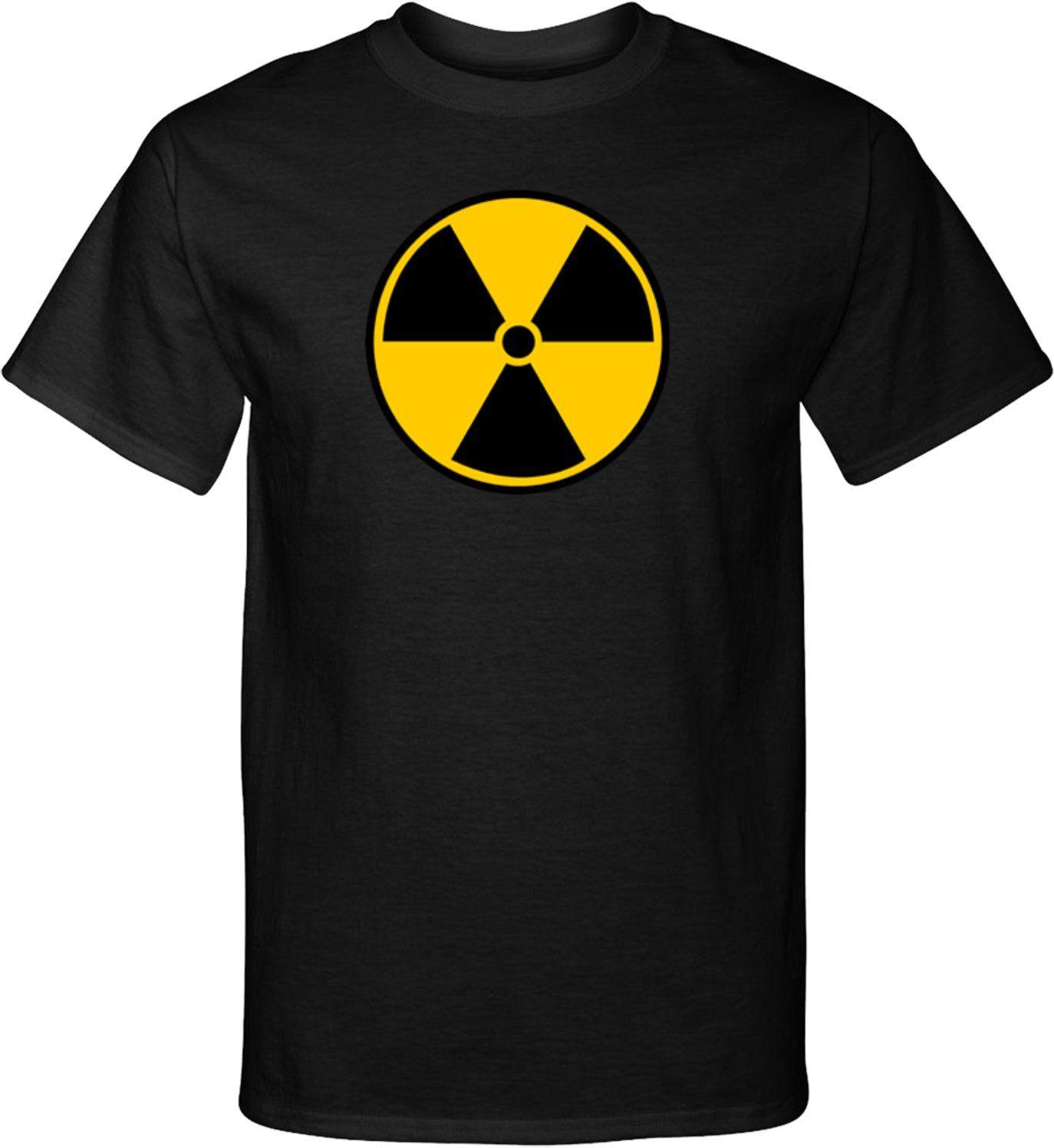 Radiation tshirt radioactive fallout symbol tall tee