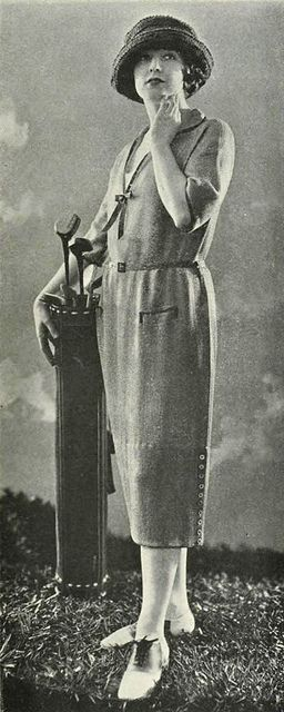 A Stylish 1921 Bonwit Teller Golf Outfit
