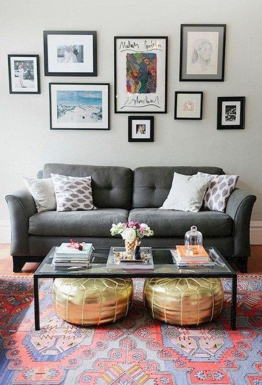 Cheap Living Room Decorating Ideas: 55 Cheap Apartment Decorating Ideas