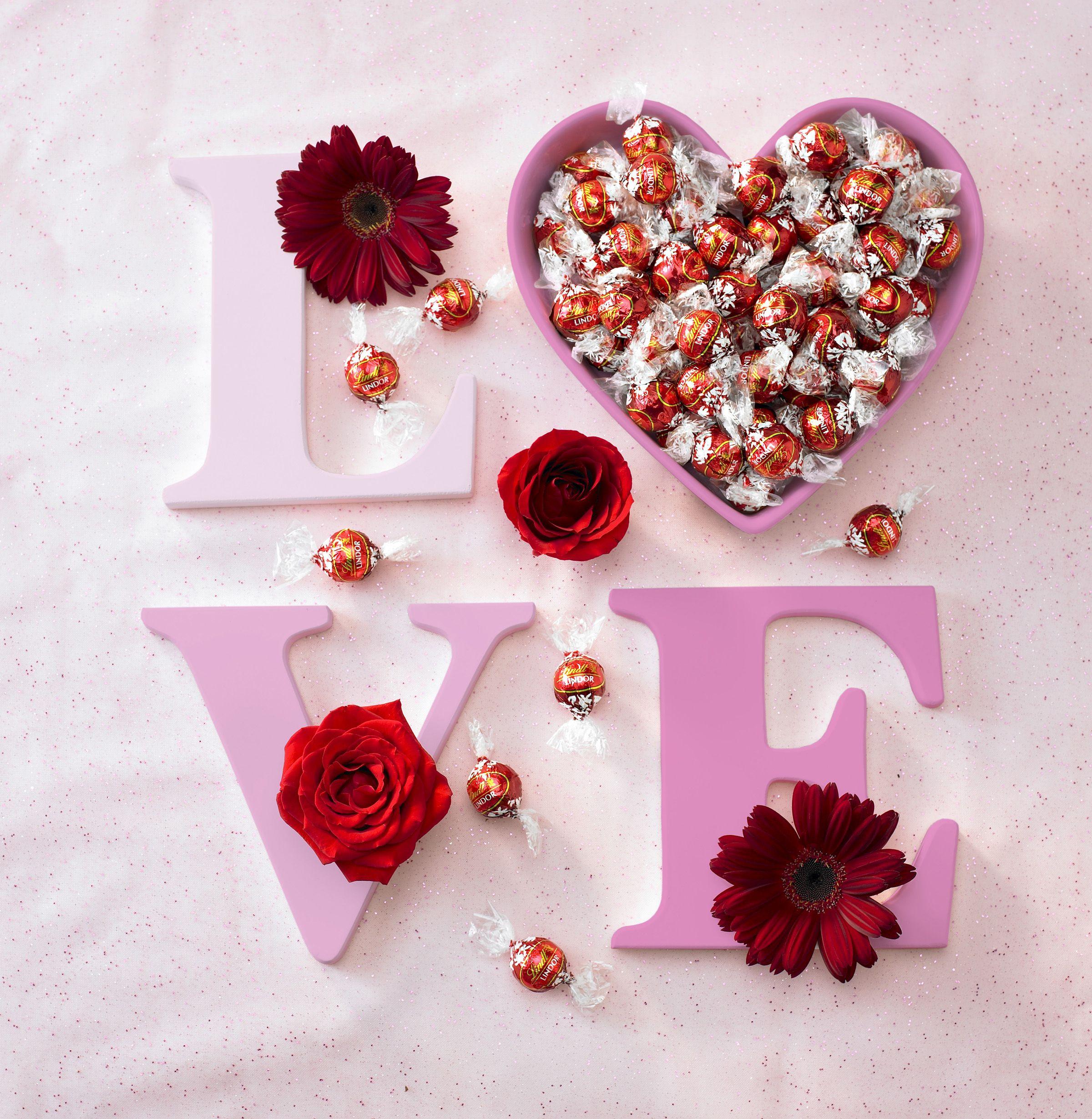 LOVE and LINDOR truffles! | Valentine Lindt-spiration | Pinterest ...