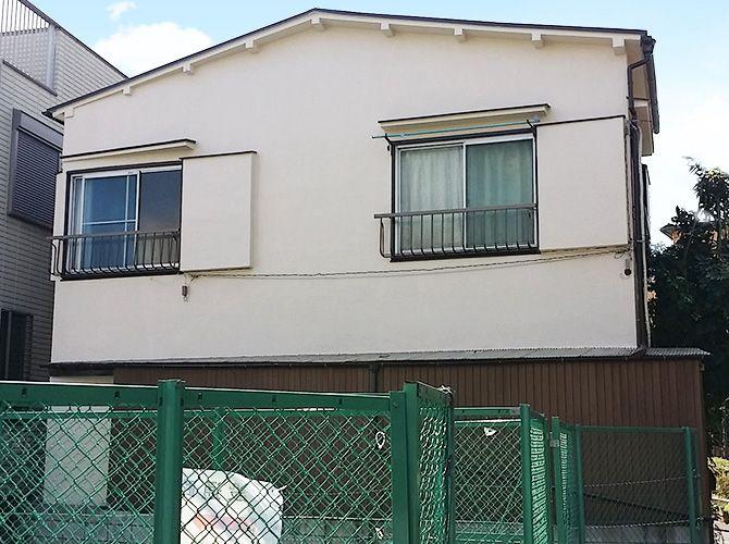 東京都豊島区の外壁塗装・屋根葺き替え工事の施工後