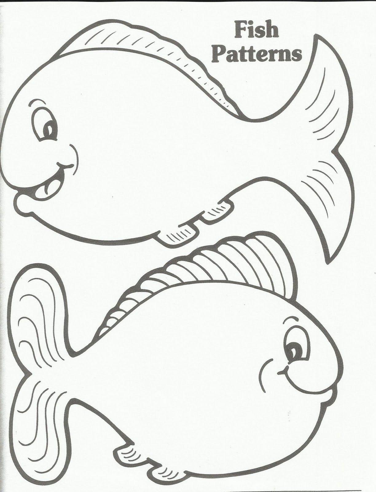 Printable Fish Template | Fish Template