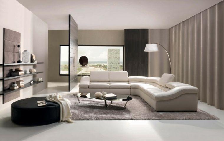 Cortinas modernas para salon - 24 diseños originales - | Cortinas ...