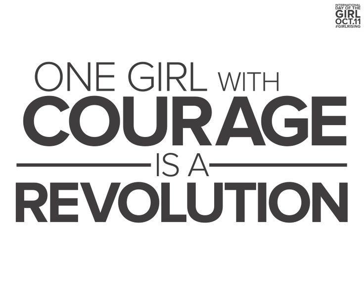 Girl Rising Slogan Poster: | Inspirational | Pinterest | Poster ...