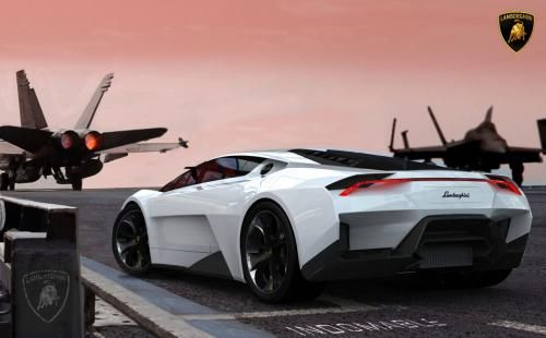 F22 Jet Fighter Inspires Lamborghini Flying Things Lamborghini