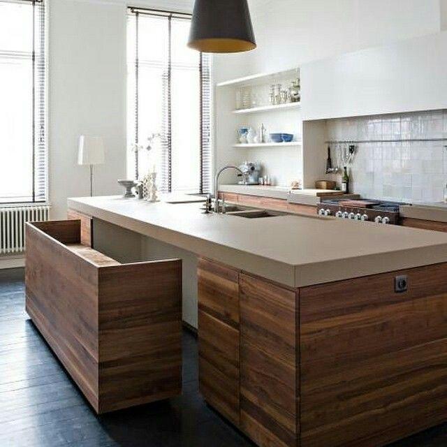 Cocina Isla Cocinas Pinterest Kitchens and Interiors