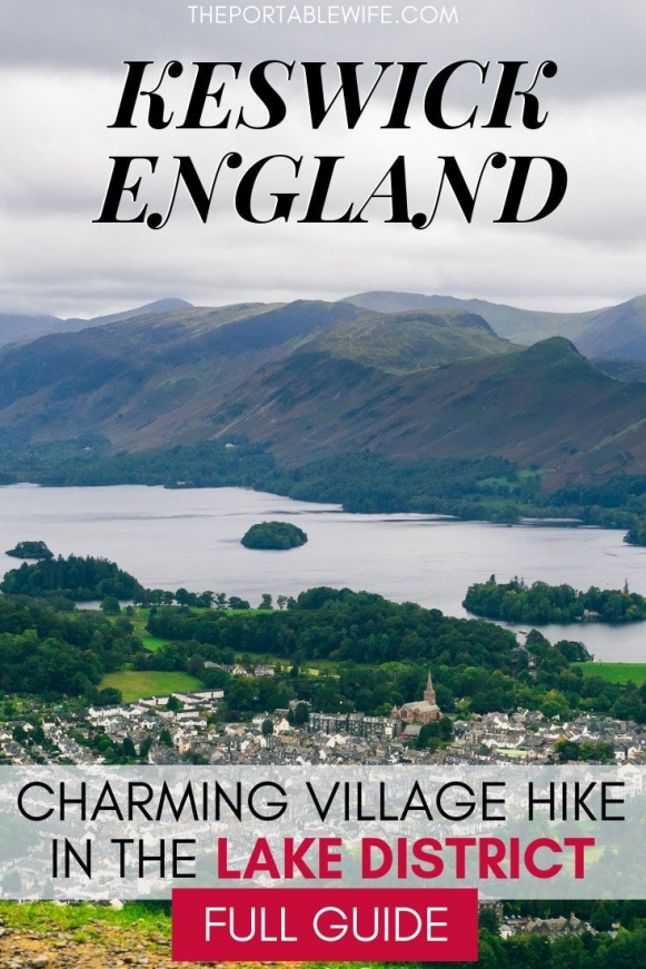 Visiting Keswick in the UK Lake District? Learn why Latrigg walk is one of the best UK hiking trails. This UK travel destinations guide will help you navigate this amazing and short hike in England complete with panoramic views. Find out why Latrigg Fell and Keswick are top England beautiful travel destinations. #england #uk #europetravel #travelguide #hiking #outdoors #ukandiedestinations #uk #destinations