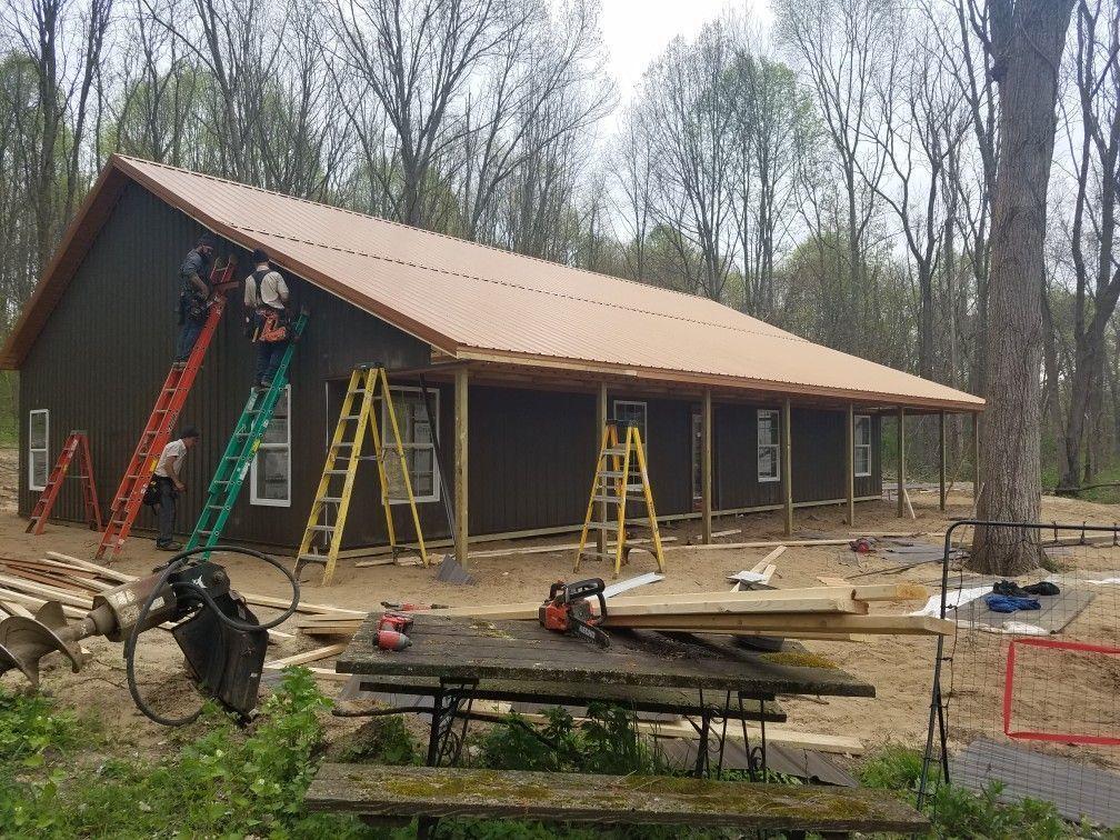 Lovely Metal Pole Barn Plans #polebarnhouses Lovely Metal Pole Barn Plans #polebarnhouses