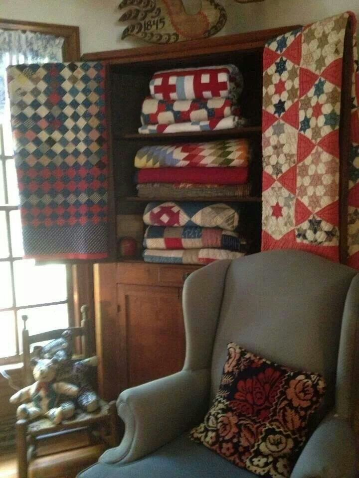 Primitive Sewing Room On Pinterest Clothes Pin Bags