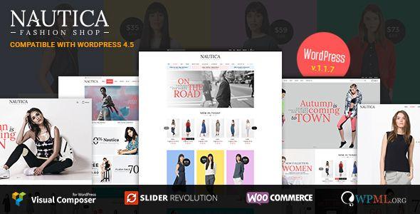 Nautica - Responsive WooCommerce WordPress Theme | Wordpress ...