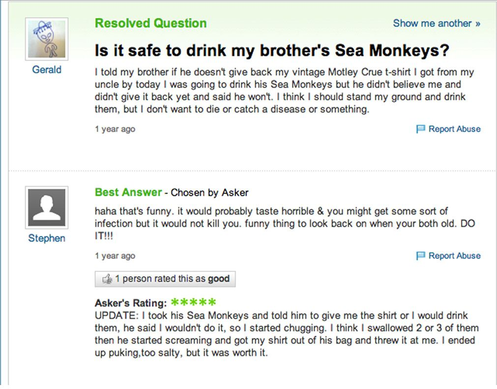 Details Are Very Important On This One Yahoo Answers Funny Yahoo Answers Stupid Yahoo Questions
