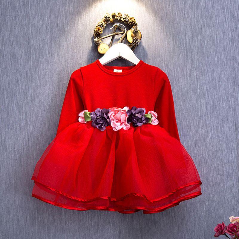 5518338d1015 2017 winter Newborn Fancy Dress Baby Dresses Girl Frocks Designs ...