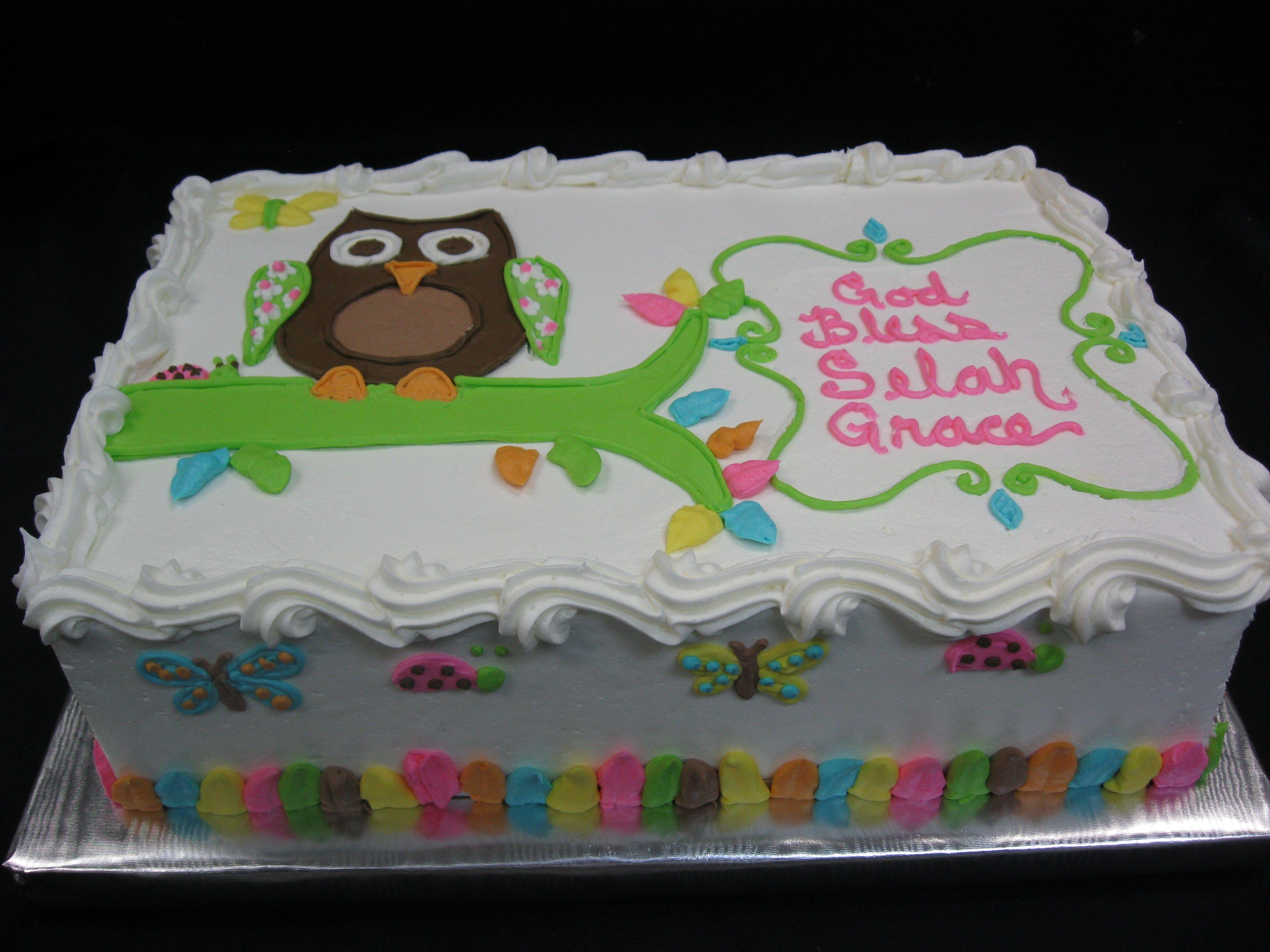 owlBirthdaysheetCakes Cakes Specialty Cakes Birthday