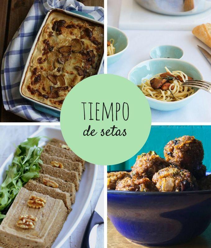 Cocina bonitista: tiempo de recetas con setas