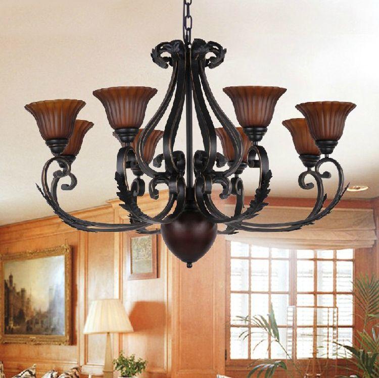 Wrought Iron Kitchen Light Fixtures | u003e Lighting u003e Pendant Lights u003eBlack  Wrought Iron Pendant