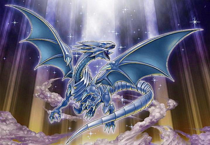 Yugioh Blue-Eyes White Dragon