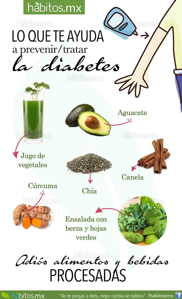 plan de comidas para diabetes sin insulina