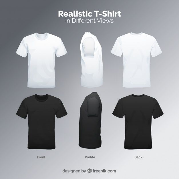 Download More Than 3 Millions Free Vectors Psd Photos And Free Icons Exclusive Freebies And All Graphic Resourc Mens Tshirts Black Tshirt Men T Shirt Design Template