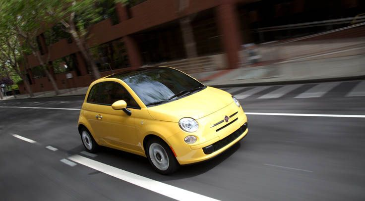 The Not So Plain But Standard Fiat 500 2014 Fiat Model Reviews