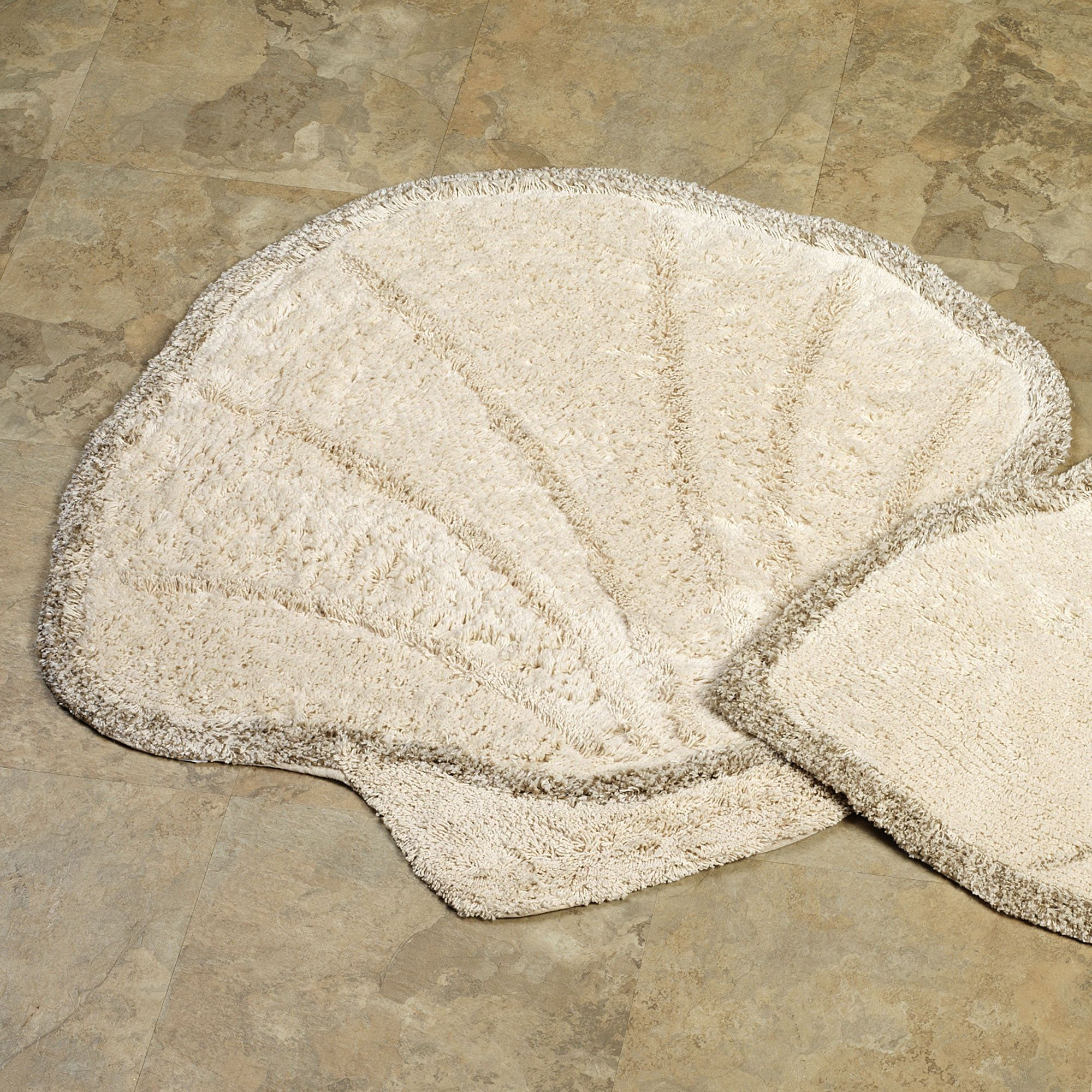 scallop shell bath rug | scallop shells, bath rugs and seashell
