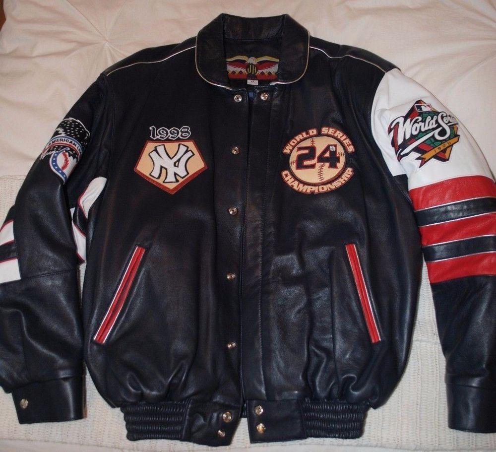 Ny Yankees 1998 Leather Jacket Joe Torre Signed Steiner J H Design Ny Yankees Joe Torre Jackets [ 911 x 1000 Pixel ]