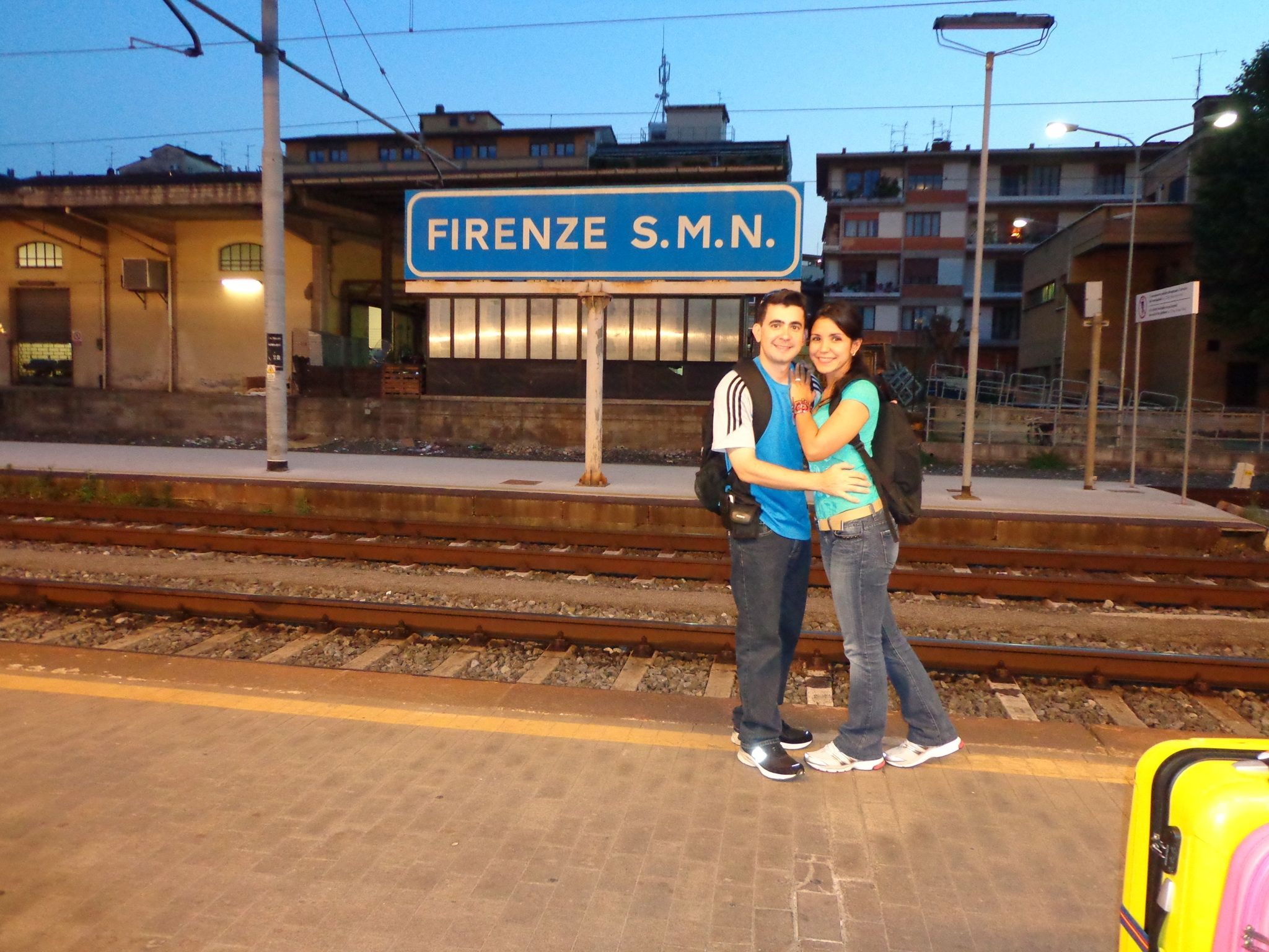 Firenze: train station