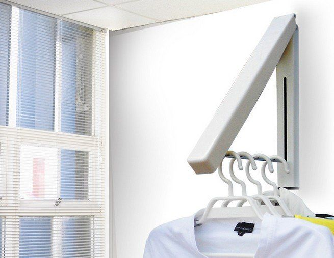 Awesome Retractable Coat Hook Design: Invisible Folding Wall Hanging Balcony Indoor Retractable Hook ~ aureasf.com Accessories Inspiration & Awesome Retractable Coat Hook Design: Invisible Folding Wall Hanging ...