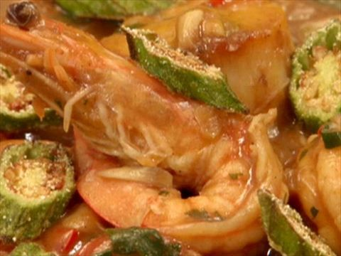 New Orleans Seafood Gumbo Video : Food Network - FoodNetwork.com