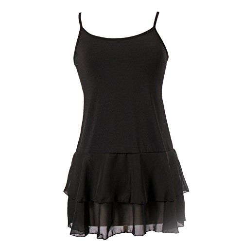 PeekabooChic Iris Chiffon Top Extender black xlarge * You can get additional details at the image link.