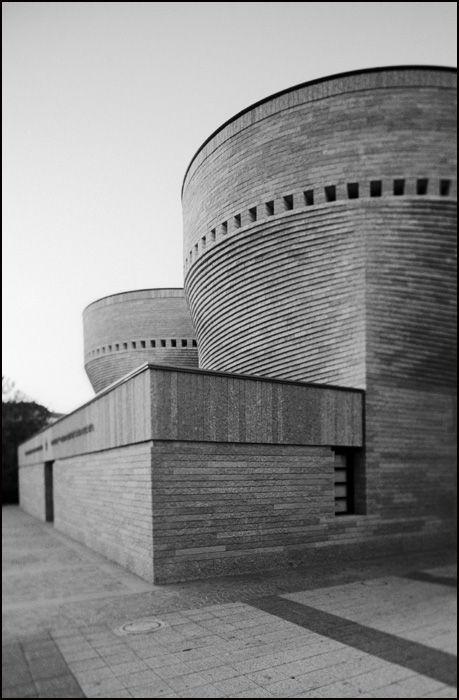 Synagogue and Jewish heritage centre. University Campus of Tel Aviv, Israel. 1998 Mario Botta