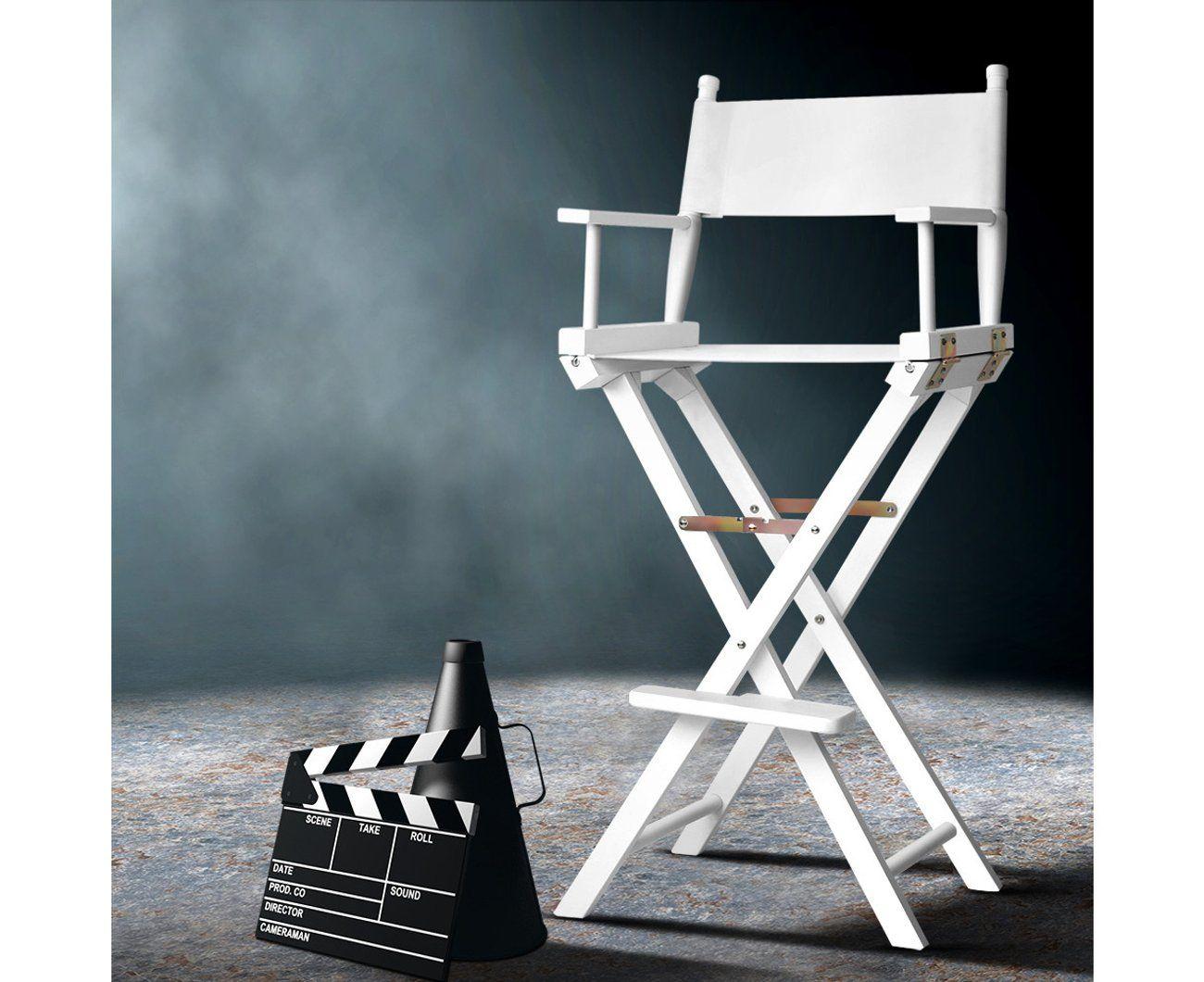 Artiss Professional Tall Director Chair Makeup Artist