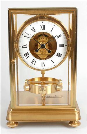 63a8a8e562b A rare Jaeger LeCoultre Prestige Atmos clock