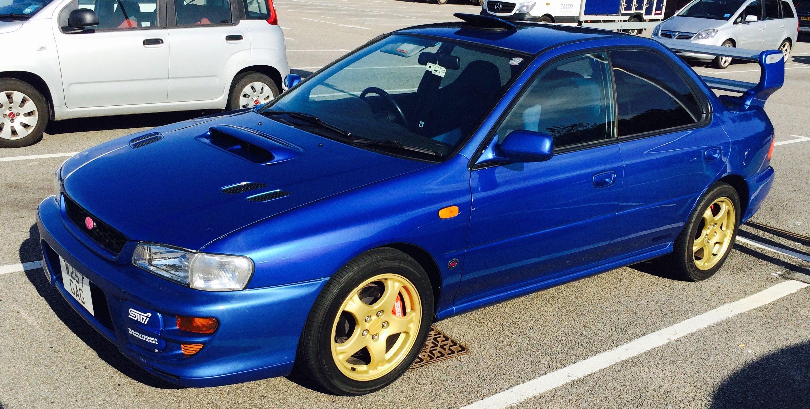 Subaru wrx sti type ra v6 limited