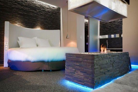 Seven Hotel In Paris Hotel Room Design Fantasy Rooms Fireplace Design