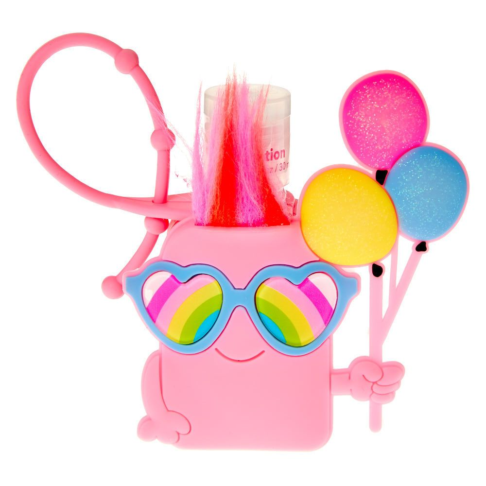 Claire S Rainbow Balloon Character Holder With Cherry Scented Hand