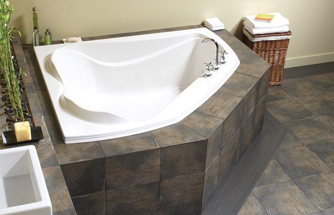 Product Image Corner Tub Soaker Tub Tub Tile