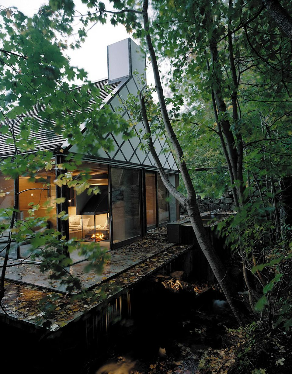 Swedish Moat House Small House Swoon Small House Swoon Small House Floating House