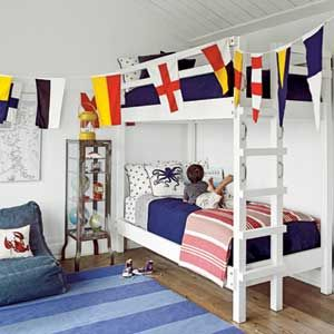 20 Fabulous Beach House Bunk Rooms Nautical Style Pinterest