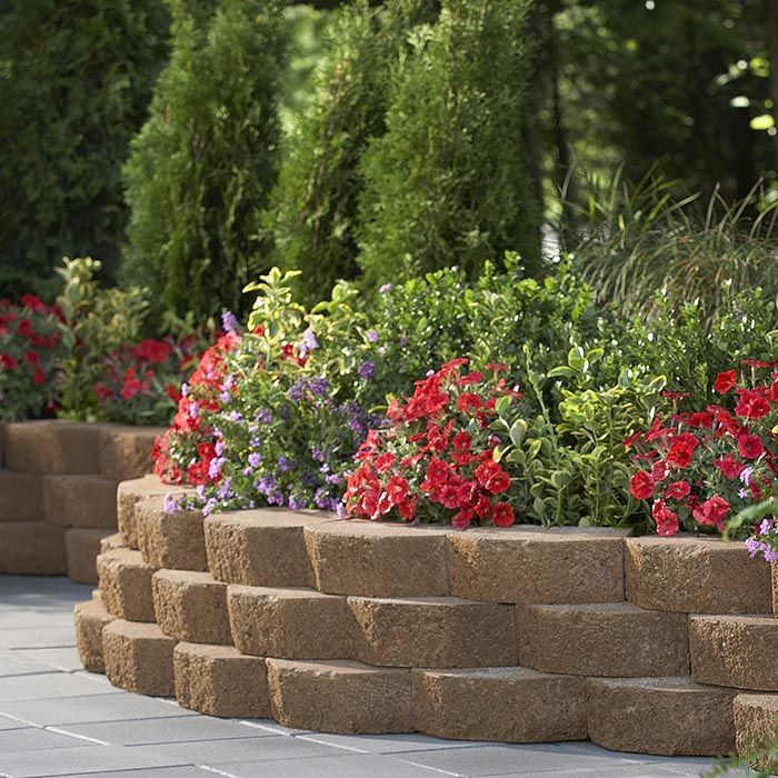 Wall Block Pavers And Edging Stones Buying Guide Brick Garden Garden Pavers Hardscape