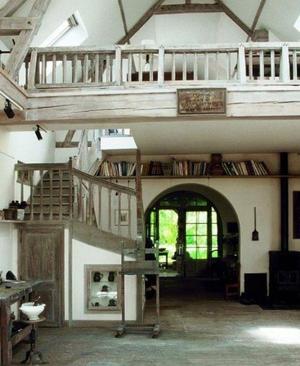 Beautiful Indoor Balcony