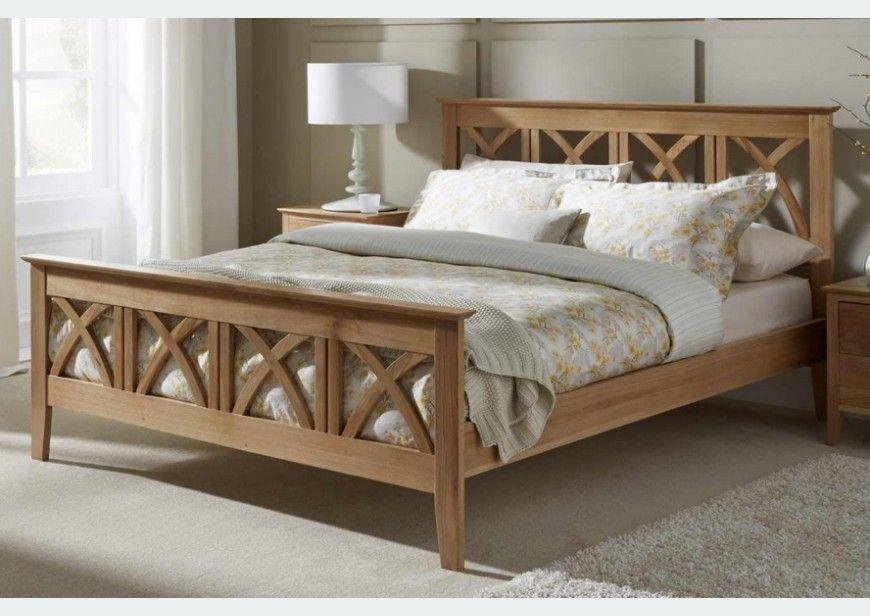 Serene Maiden Solid Oak Wooden Bed Frame 6ft Superking