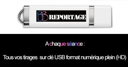 Vos photos envoyée sur clés USB à chaque séance!
