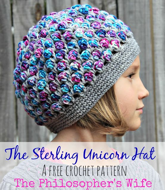 The Sterling Unicorn Hat: A Free Crochet Pattern by The ...