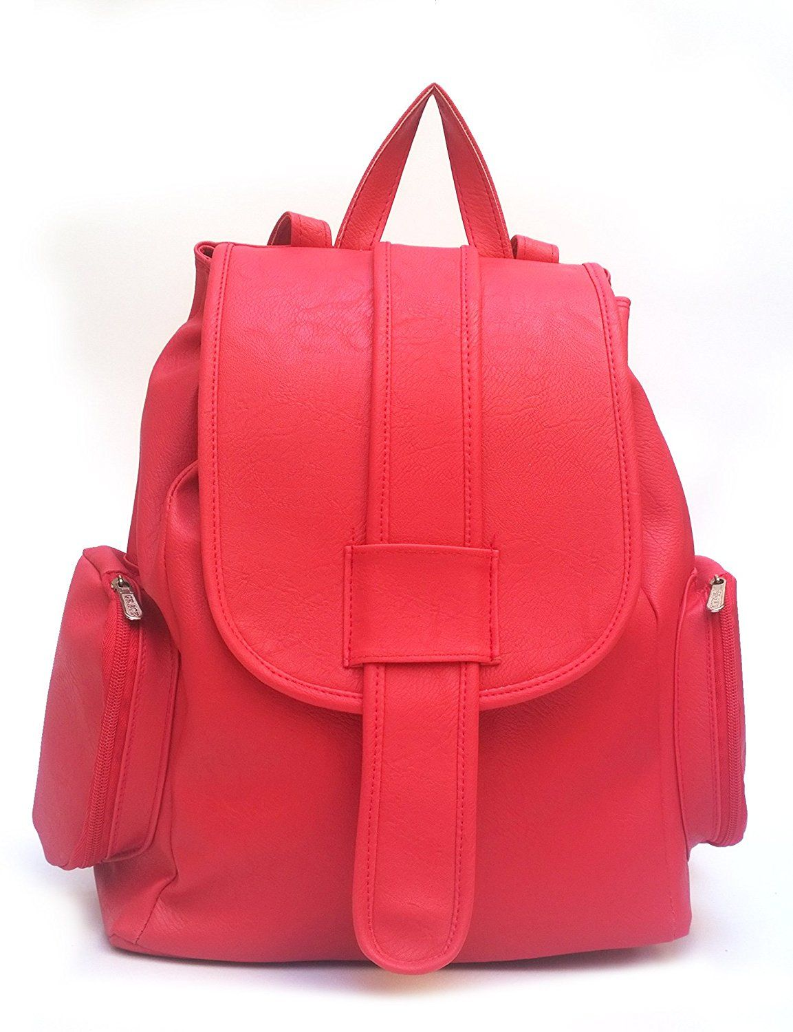 3d3220f782d5 Vintage Women s Backpack Handbag (Red