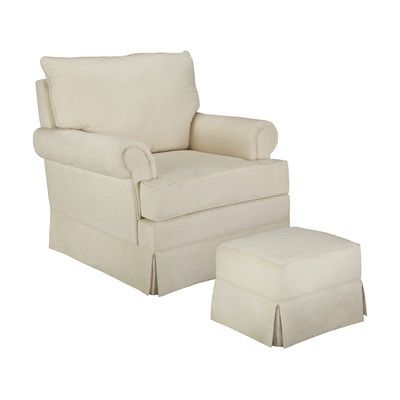 ThomasvilleKids Grand Royale Swivel Glider with Ottoman & Reviews | Wayfair