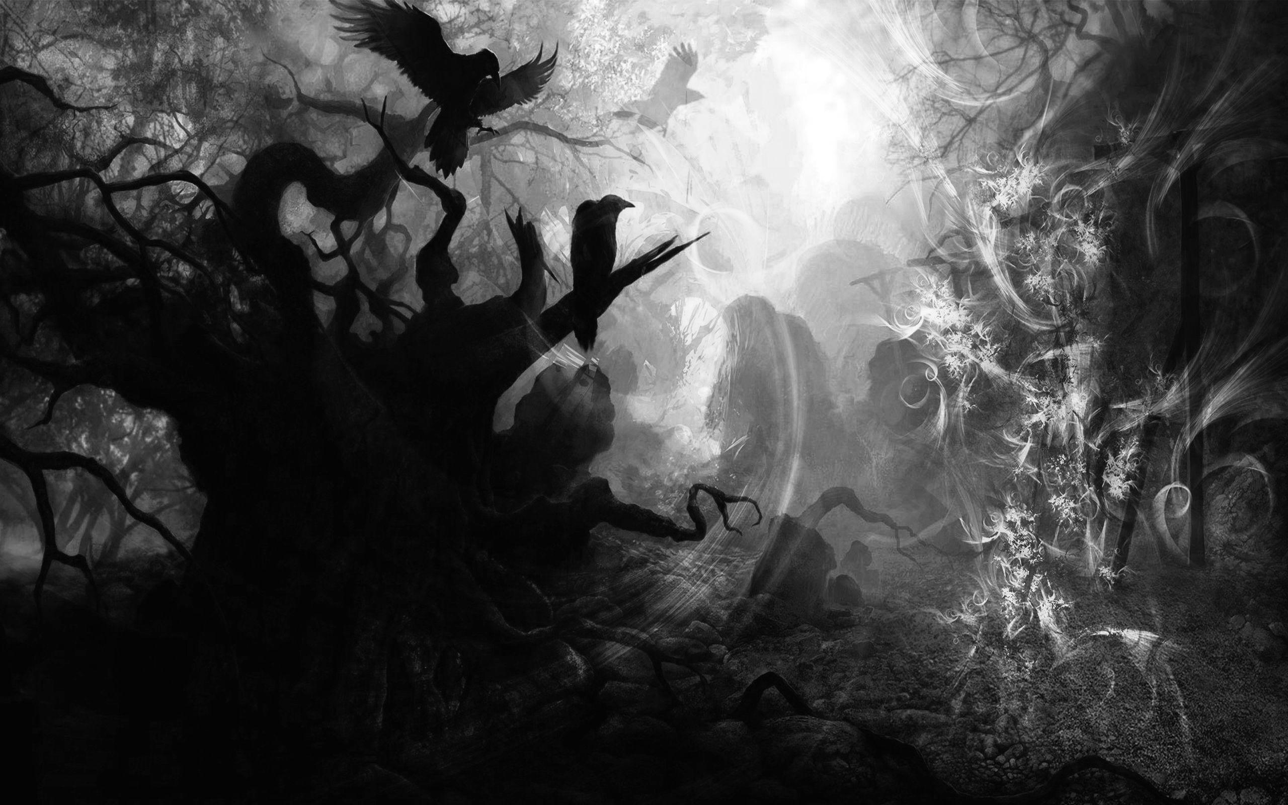 Dark Wallpaper Art Background