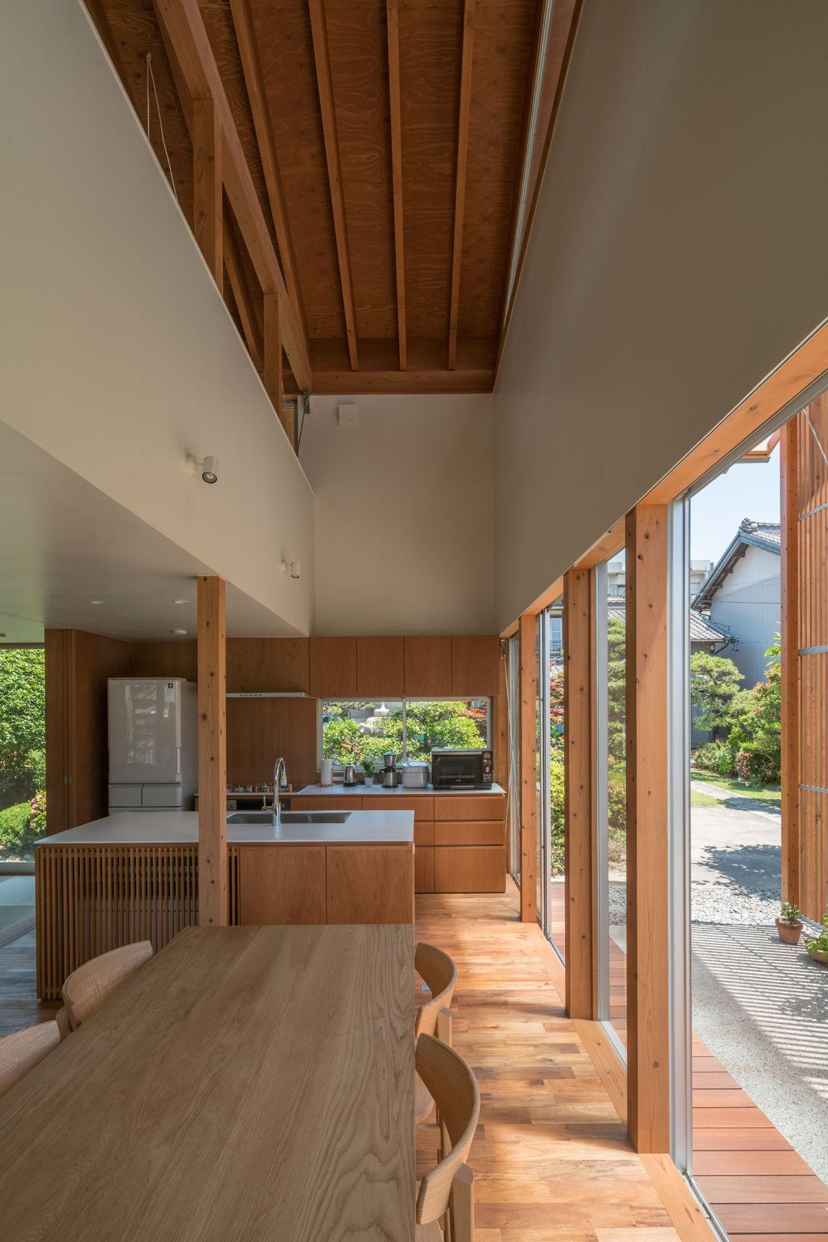House in otai by mizuishi architect atelier photo hiroshi tanigawa also rh pinterest