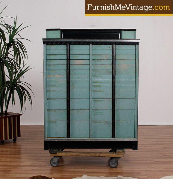 Vintage Art Deco Dental Cabinet   Coolness   Pinterest   Dental ...